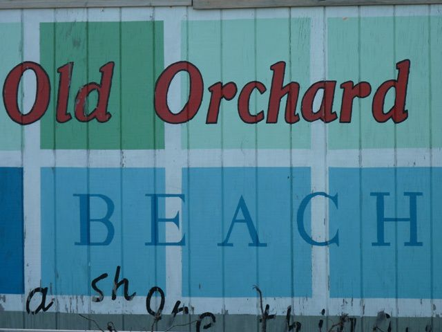 Old Orchard Beach.