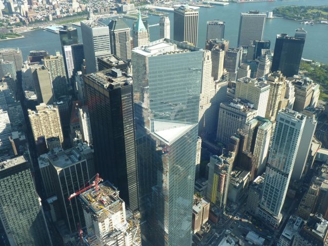 Vue du One World Trade Center.