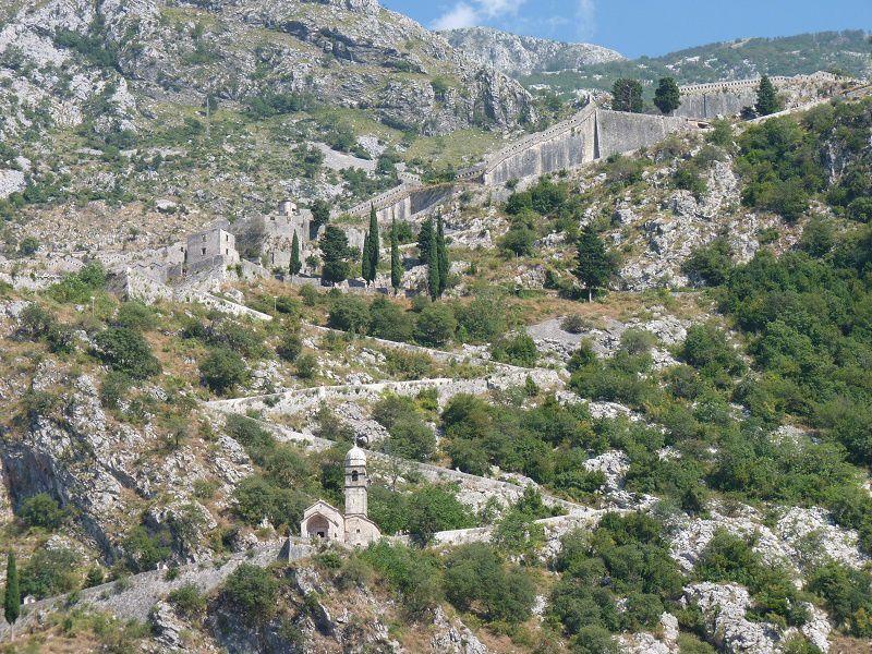 vues sur les fortifications