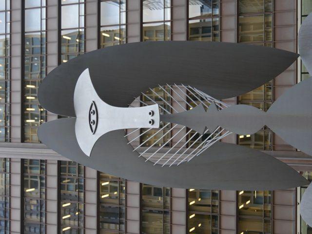 sculpture de Dubuffet et de  Picasso