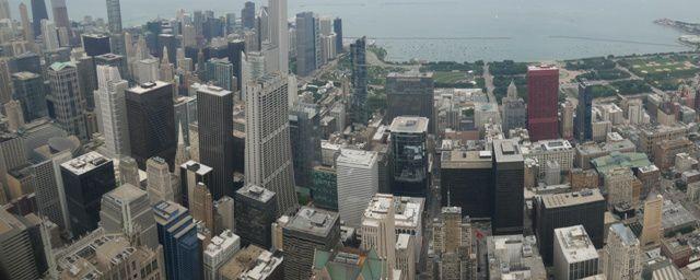 vue  de la Willis Tower