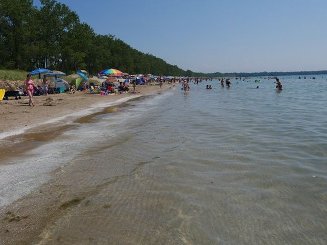 outlet  beach