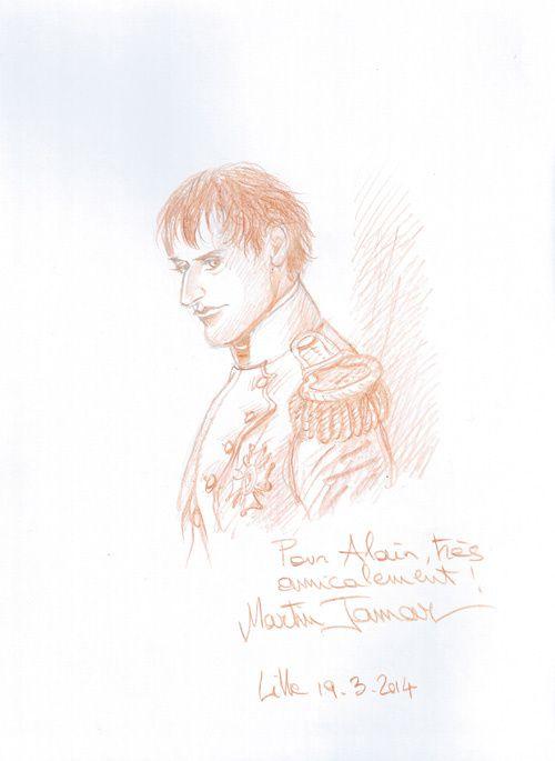 Martin Jamar; Double Masque T06 : L'Hermine. Personnage demandé : Bonaparte.