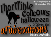 créations pour Halloween