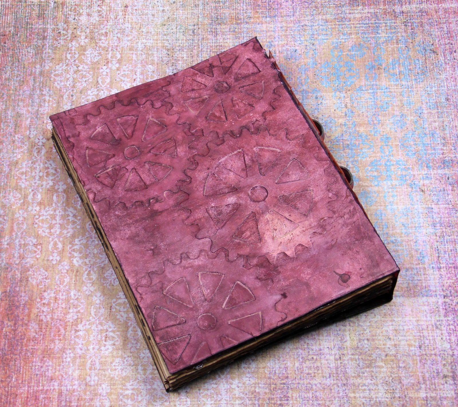 Faux livre altéré steampunk &quot&#x3B;FLY&quot&#x3B;
