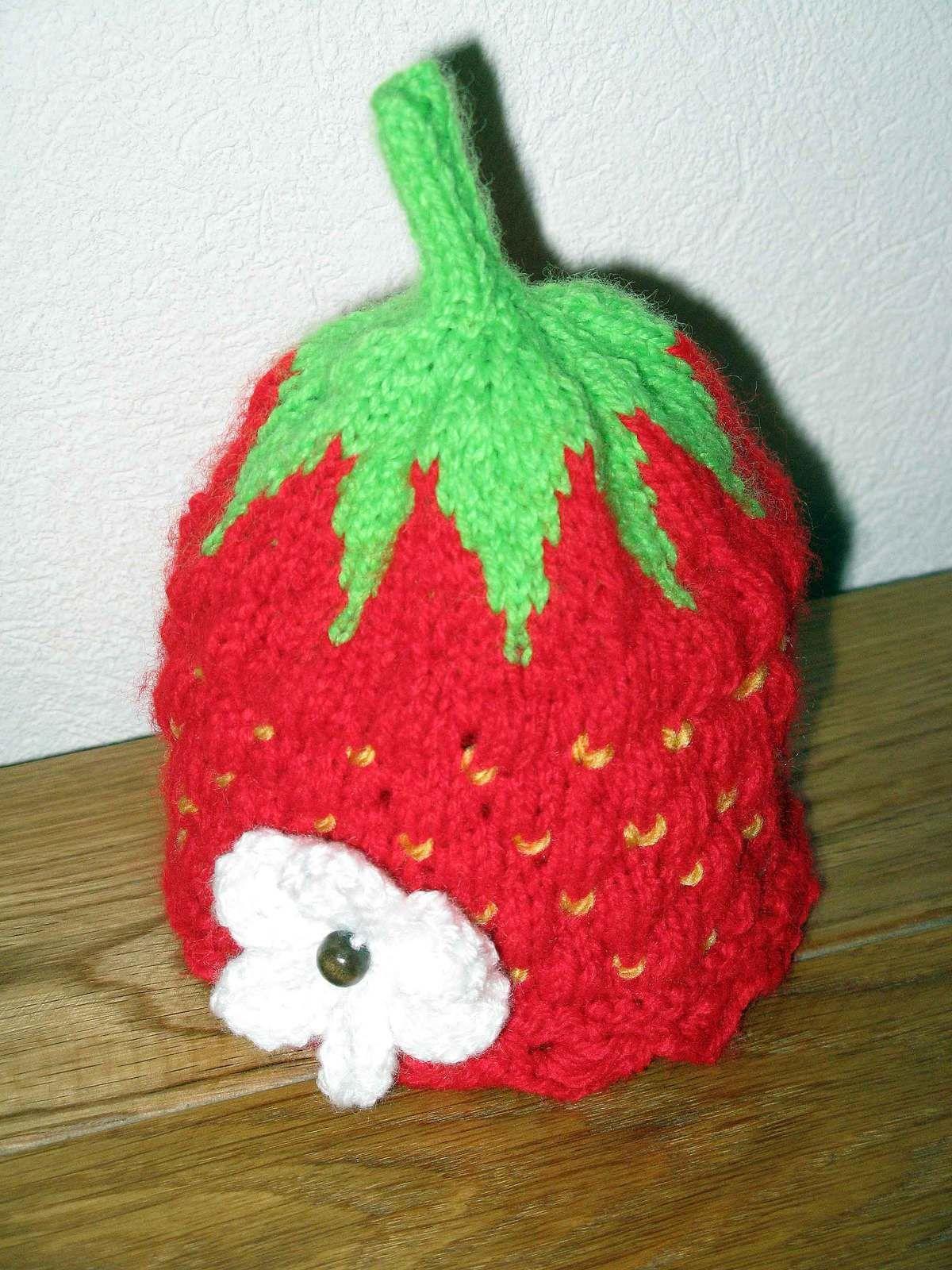 Bonnet fraise
