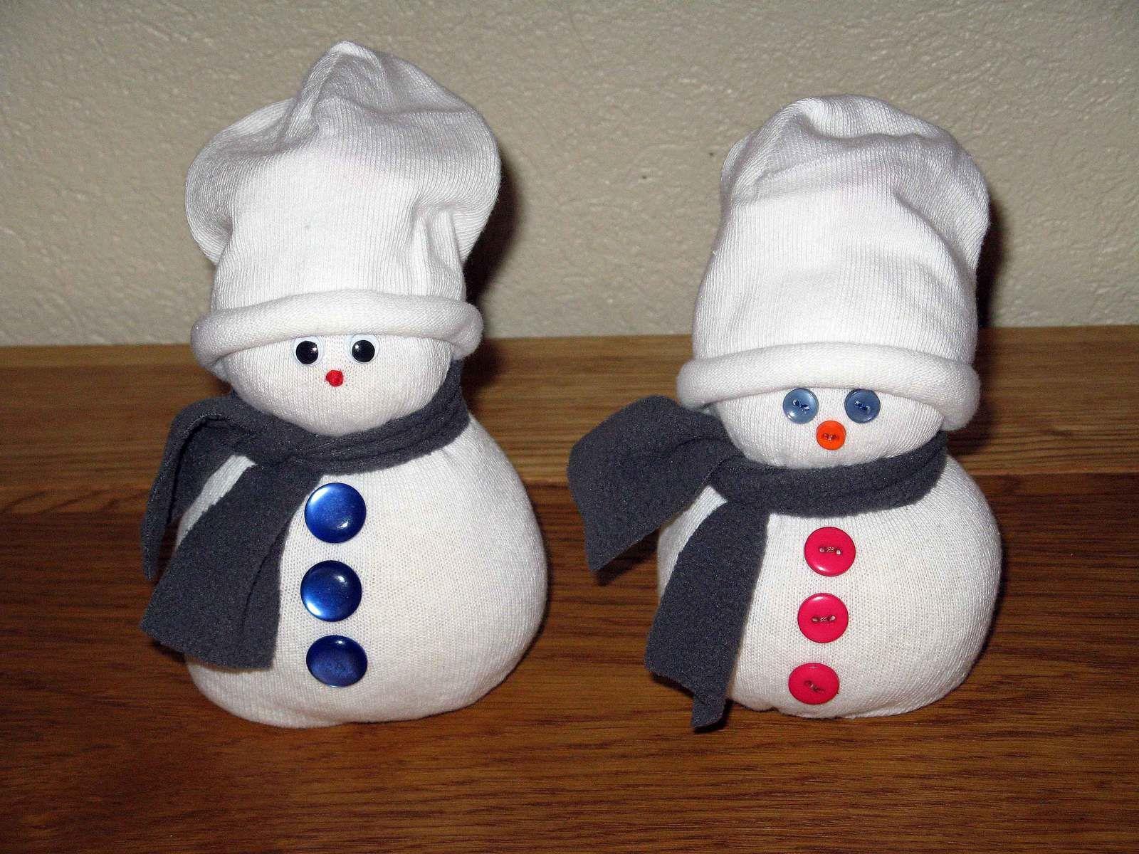 mes bonhommes ... de neige