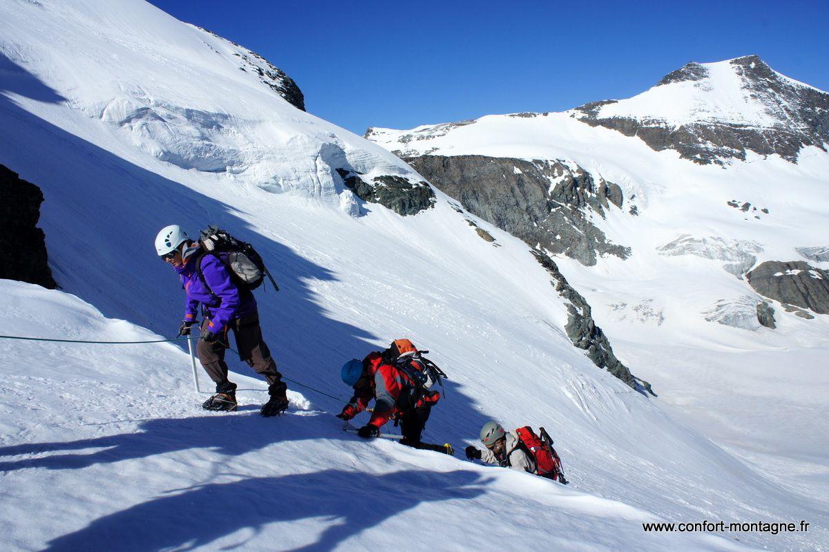 Trek glaciaire haute maurienne cirque des evettes le for Haute maurienne