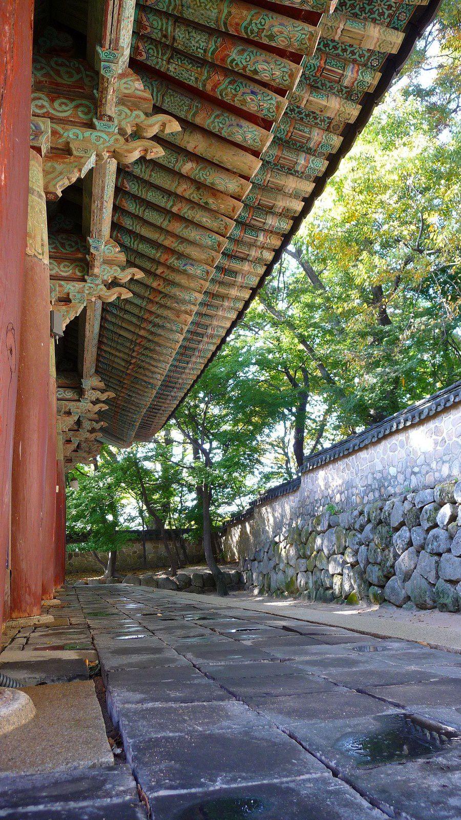 Corée - Gyeongju national parc, Bulguksa &amp&#x3B; Seokguram