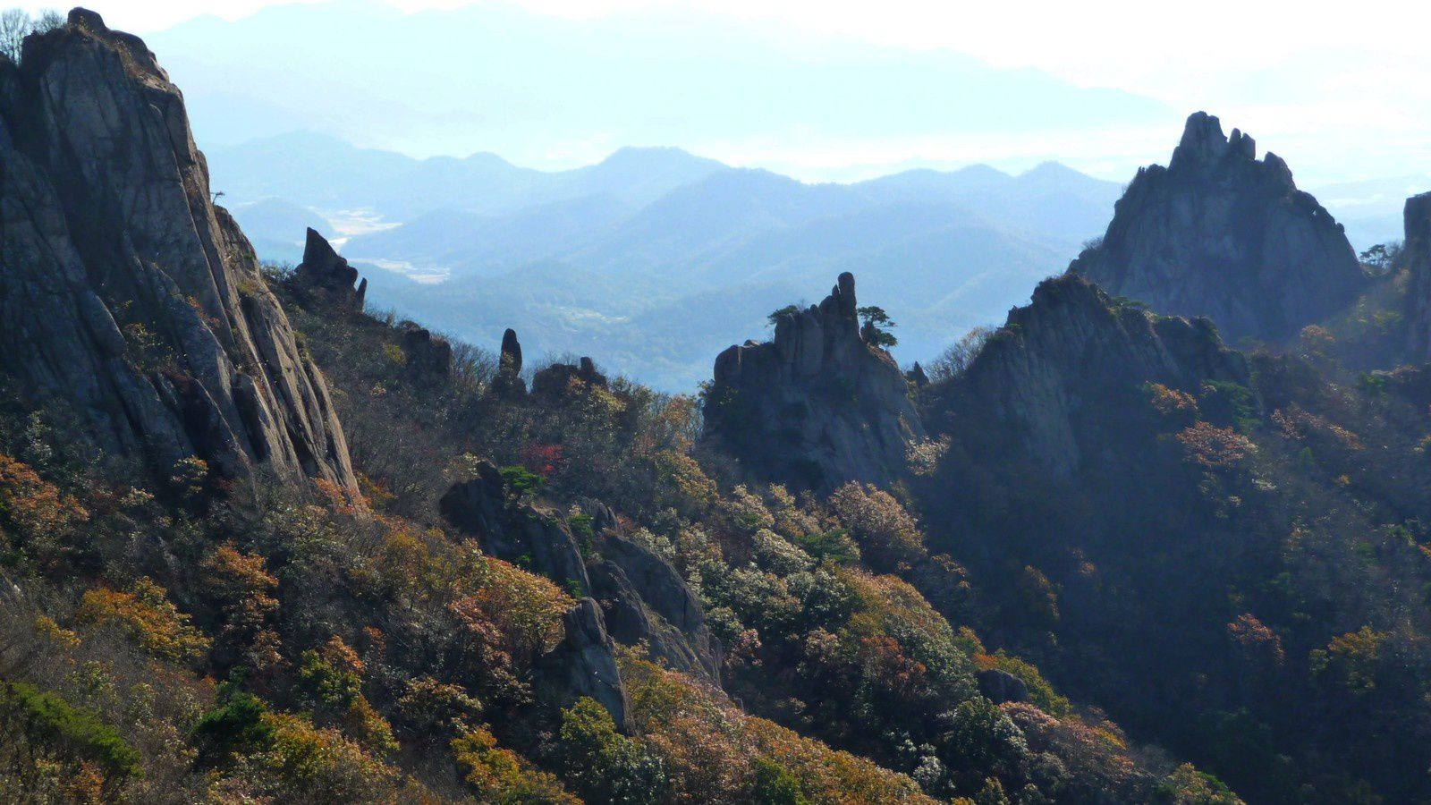 Corée - Wolchulsan national park