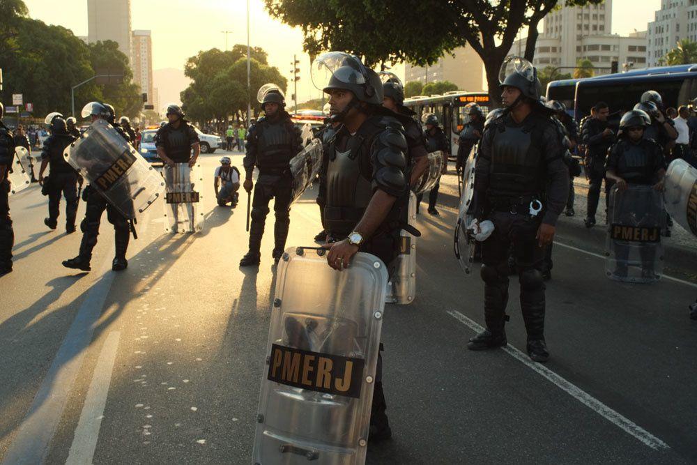 La rue carioca manifeste