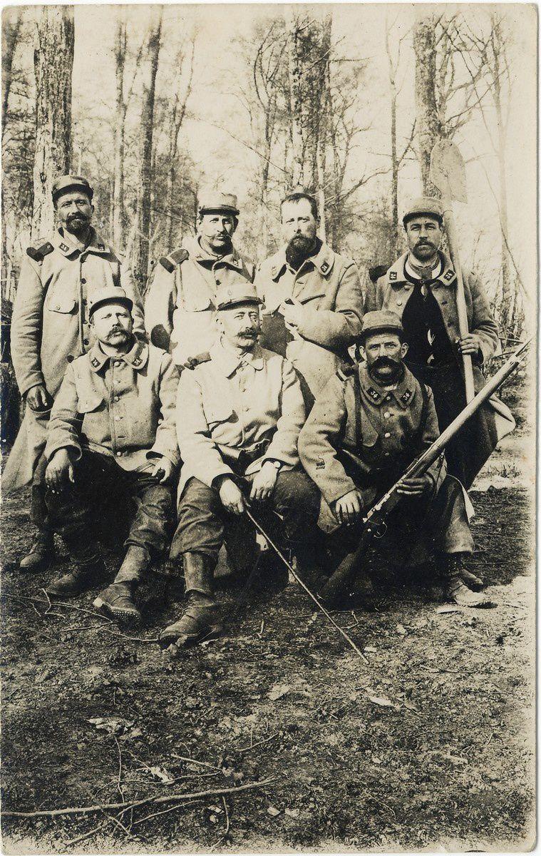 Soldats français de 1915