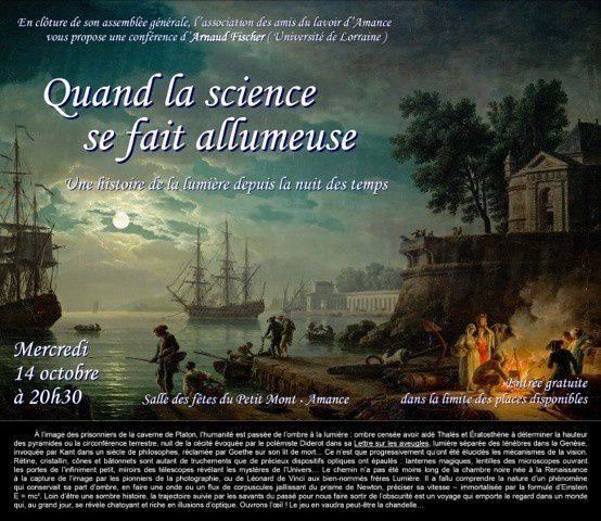 Journée du patrimoine à Amance le samedi 19 septembre 2015