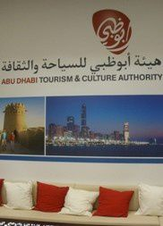 Abu Dhabi Tourism & Culture Authority Stand At The Messe Frankfurt Book Fair 2015. Photo ©2015 Teddy Crispin