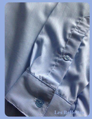 Le tissu vient de Myrtilles et les boutons de A little Mercerie