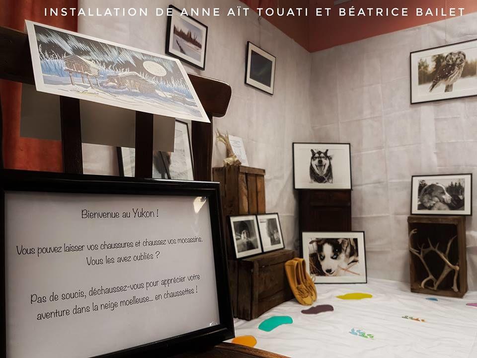 Participation à plusieurs expositions de photographie dans les Hautes-Alpes avec Anne Aït-Touati