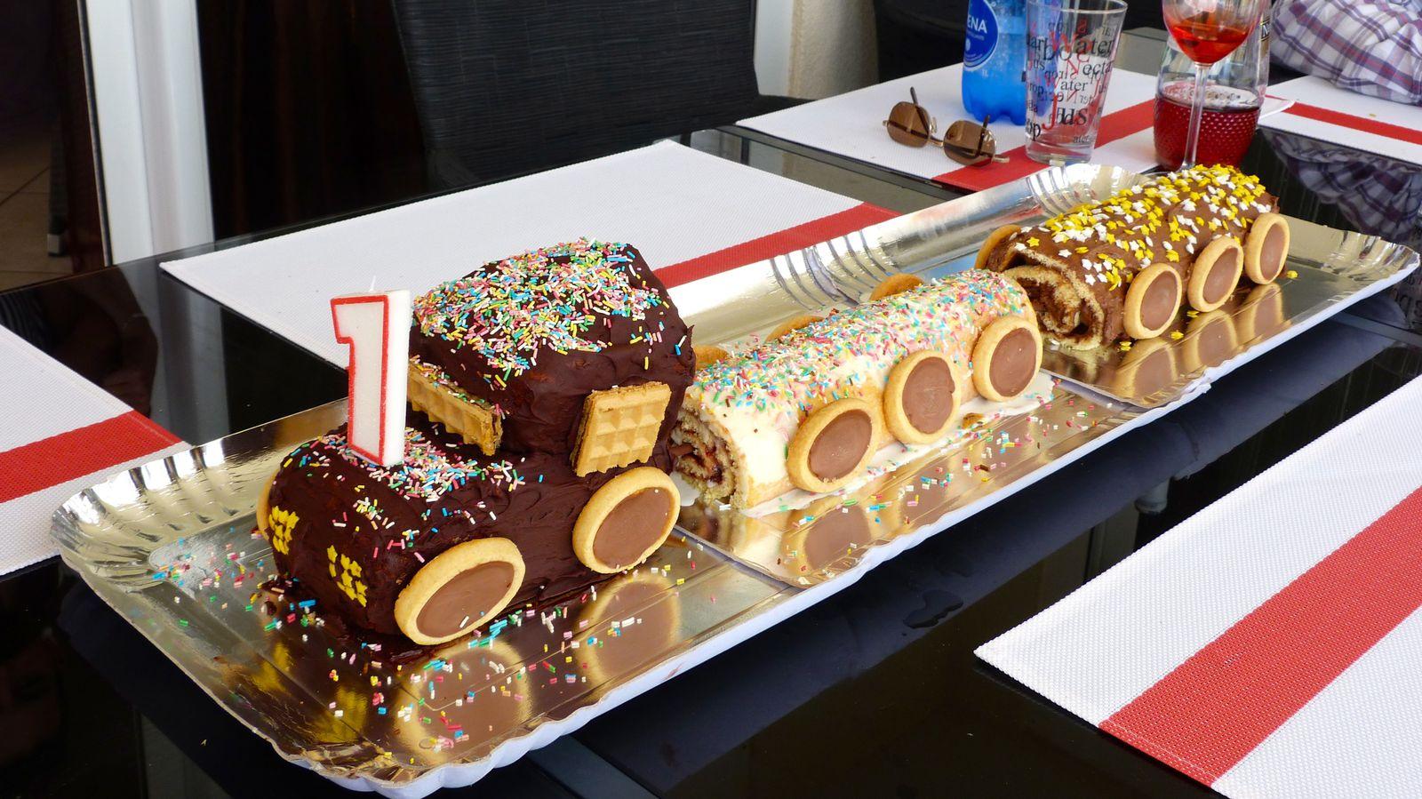Gâteau «petit train»