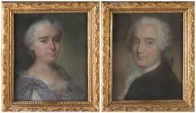 Jean Baptiste Laurent Boyer de Fonscolombe (1716-1788), et Madame, née Jeanne d'Albert de Saint Hippolyte (1718-1795)
