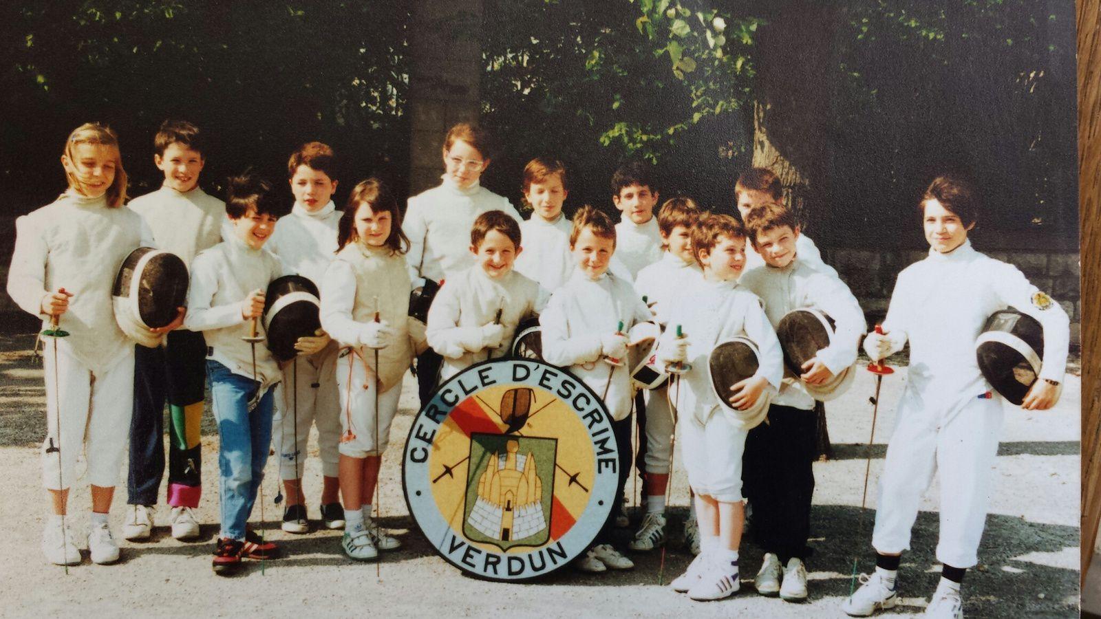 Cercle d'escrime de Verdun - 1989