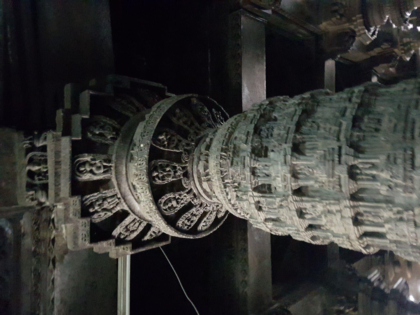 Le plus beau  pour moi est le pilier Narsimba  il est finement sculpté!!