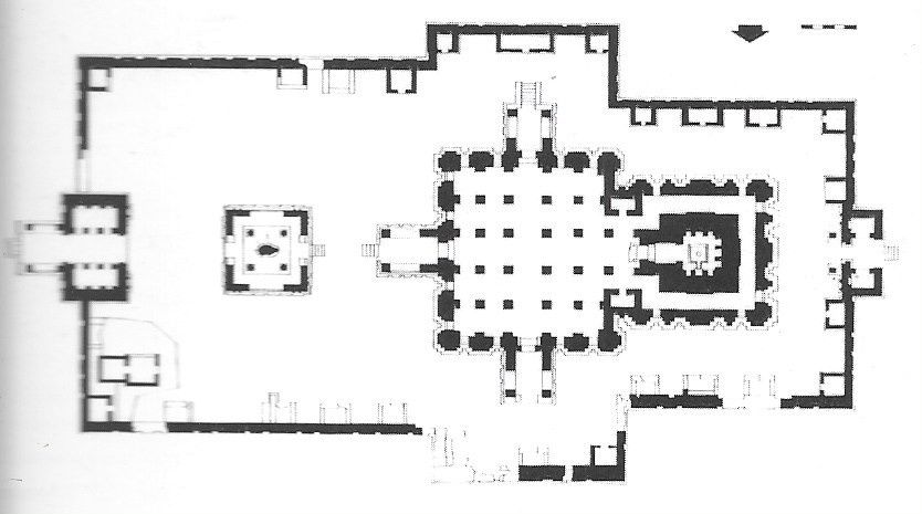 Plans du sanctuaire de VIRUPAKSHA