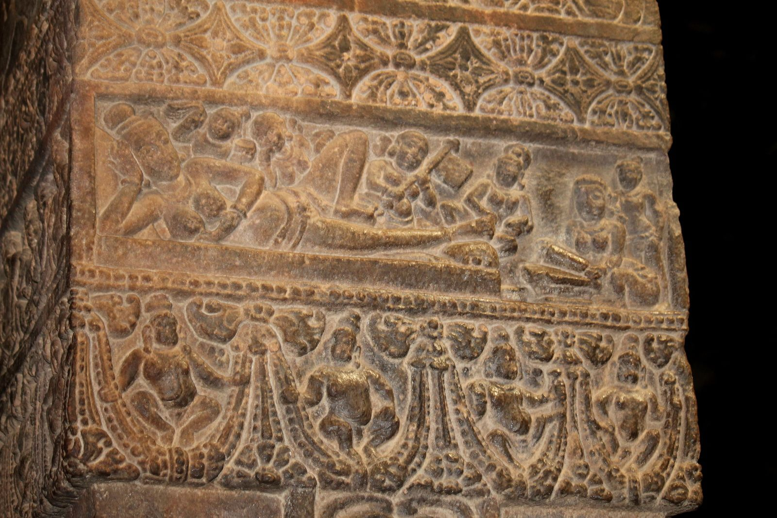 KARNATAKA PLAN D'ENSEMBLE DU SITE ARCHEOLOGIQUE DE PATTADAKAL, LE VIRUPAKSHA