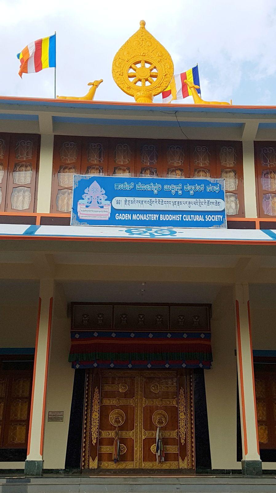 KARNATAKA  LES REFUGIES TIBETAINS  A MUNDGOD &quot&#x3B; LE  MONASTERE DE DANGEN&quot&#x3B;
