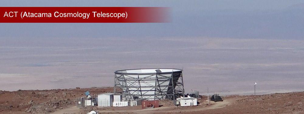Télescope ACT (Photo : Eldesiertoflorido)