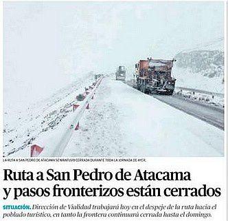 Source : El Mercurio de Calama.