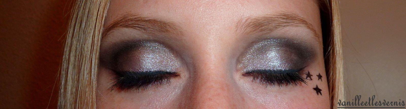 Make Up gris étoilé