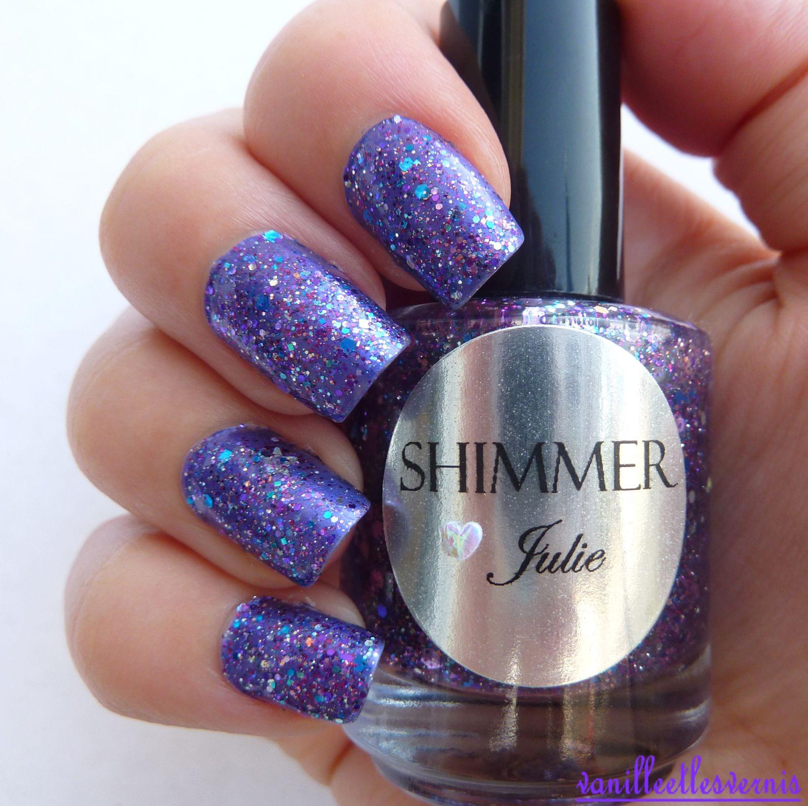 Shimmer Polish / Julie