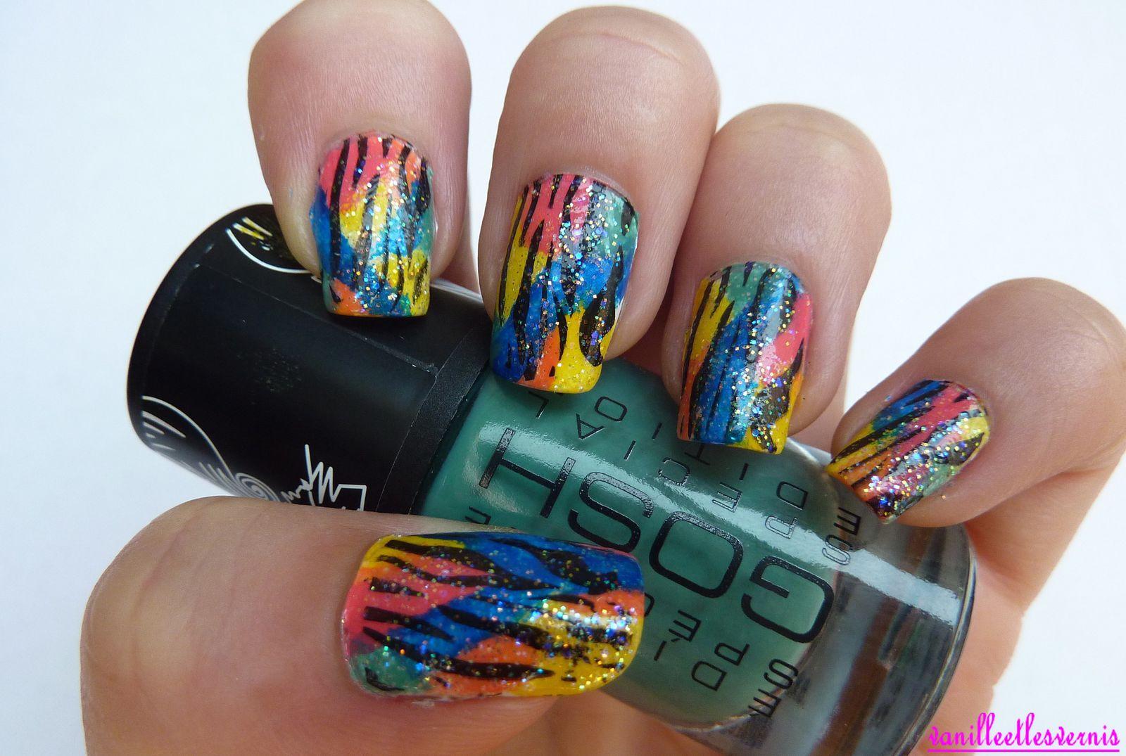 Nail Art, spécial catch!!!!