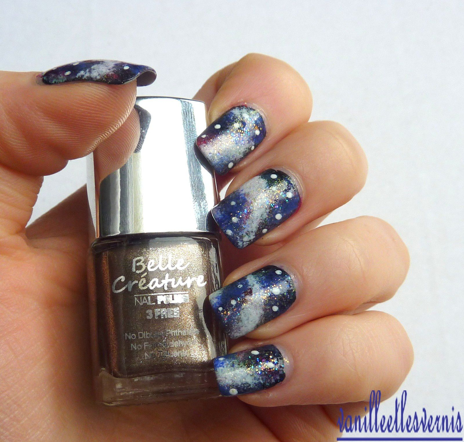 Galaxy Nail avec Belle Créature