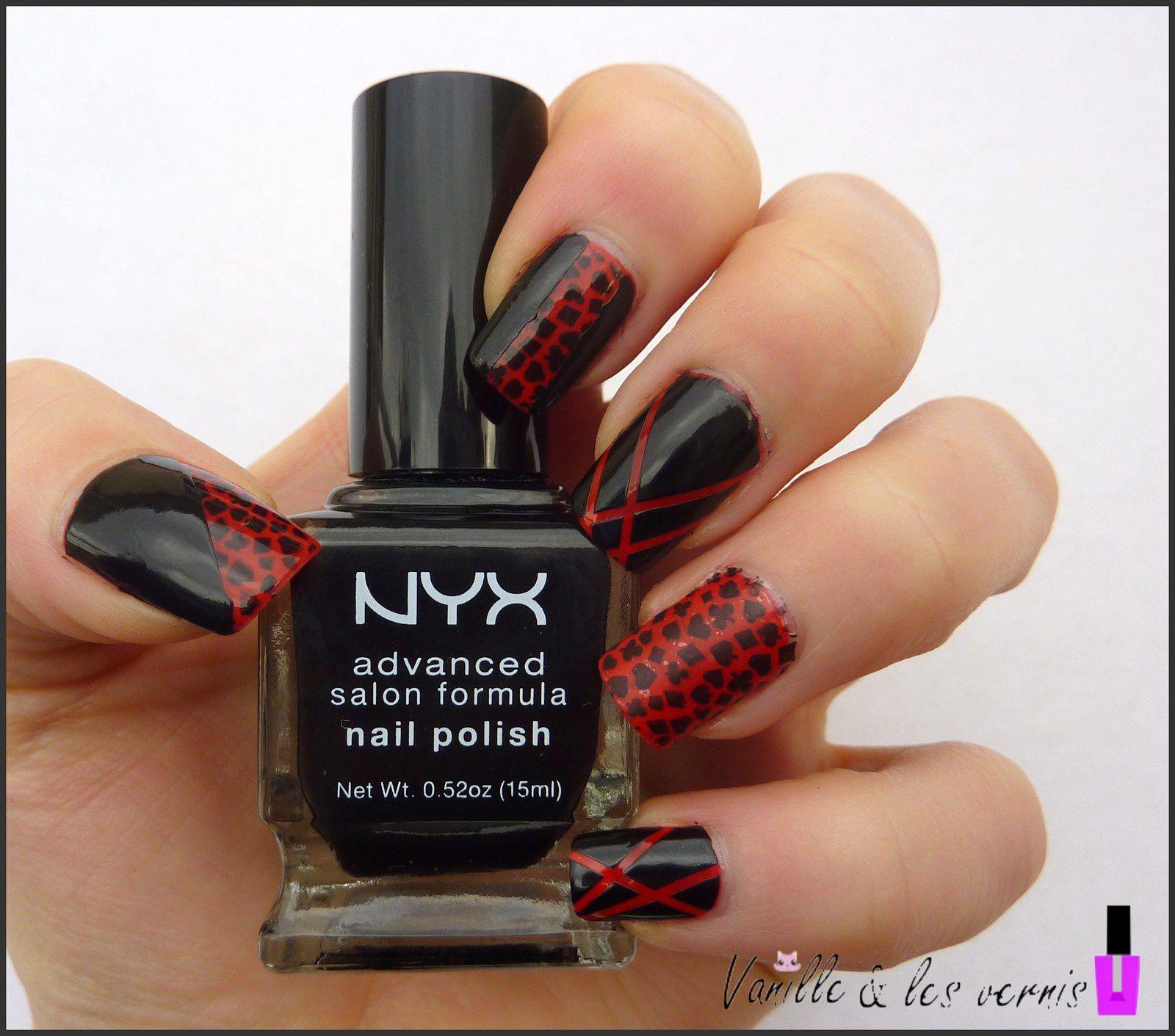Mix &amp&#x3B; Match en rouge et noir