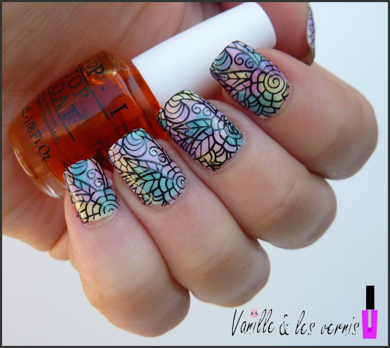Mes ongles vitraux