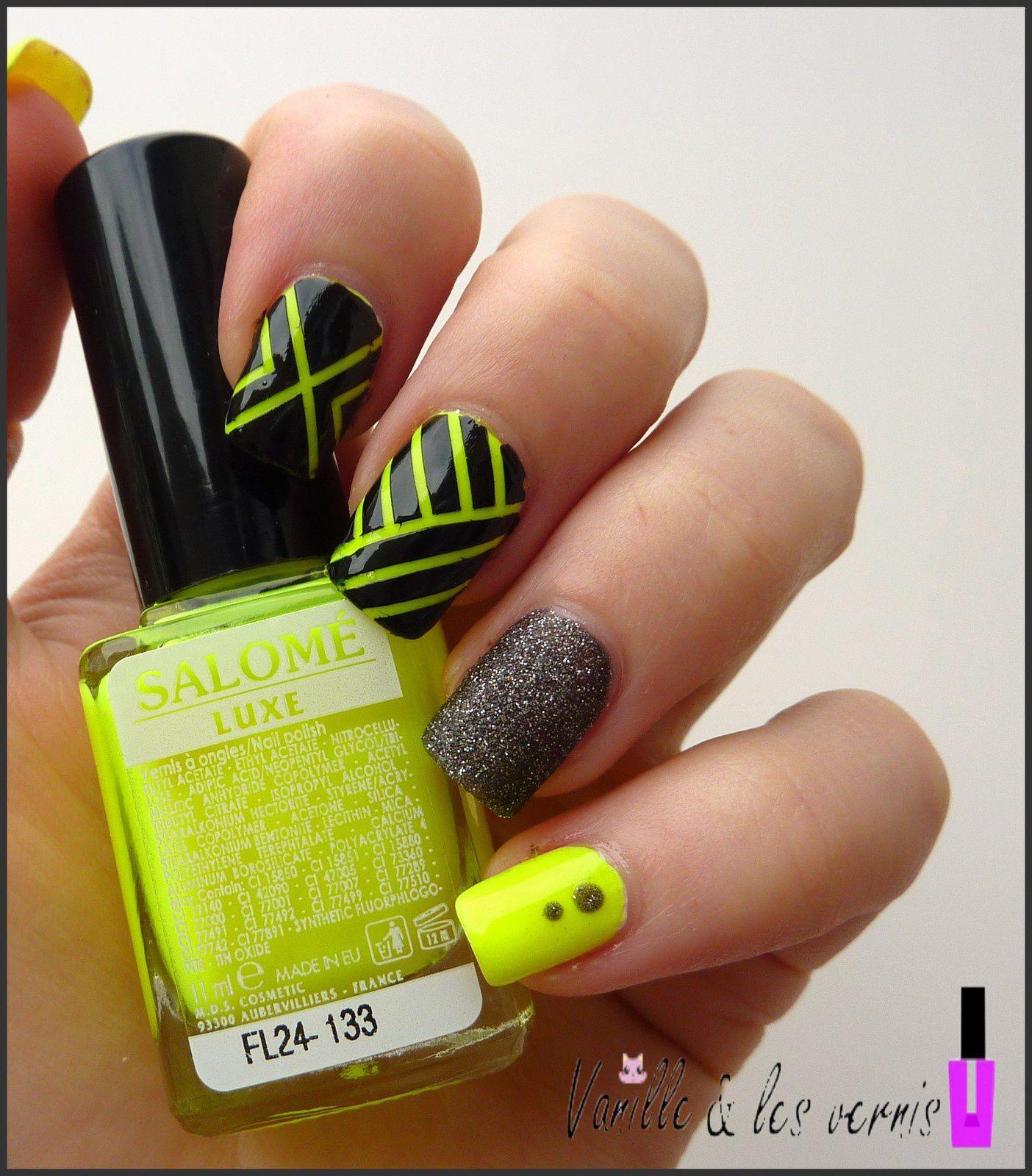 Mix jaune fluo!!