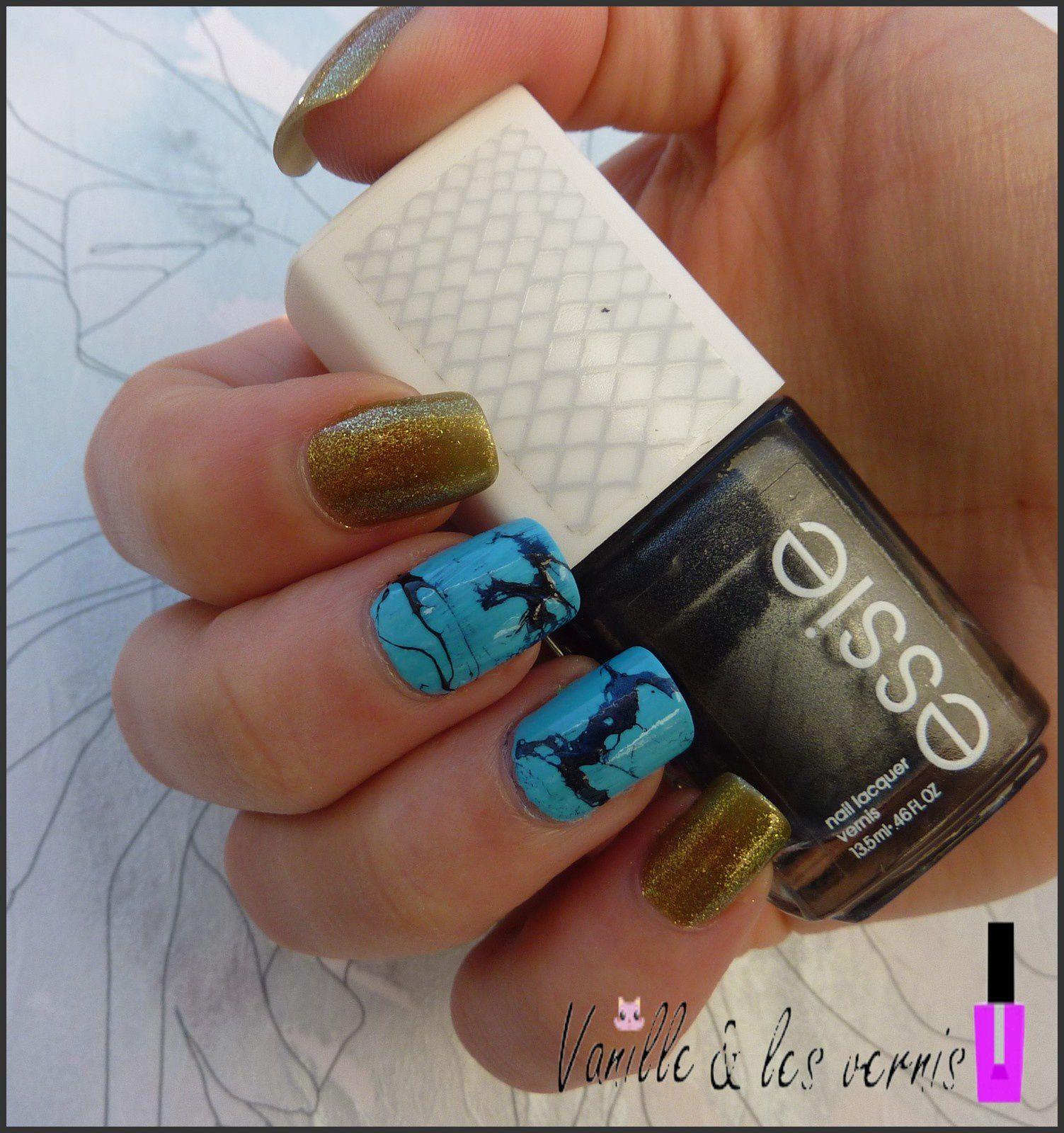 Inspirée par un bijoux : Turquoise Nail