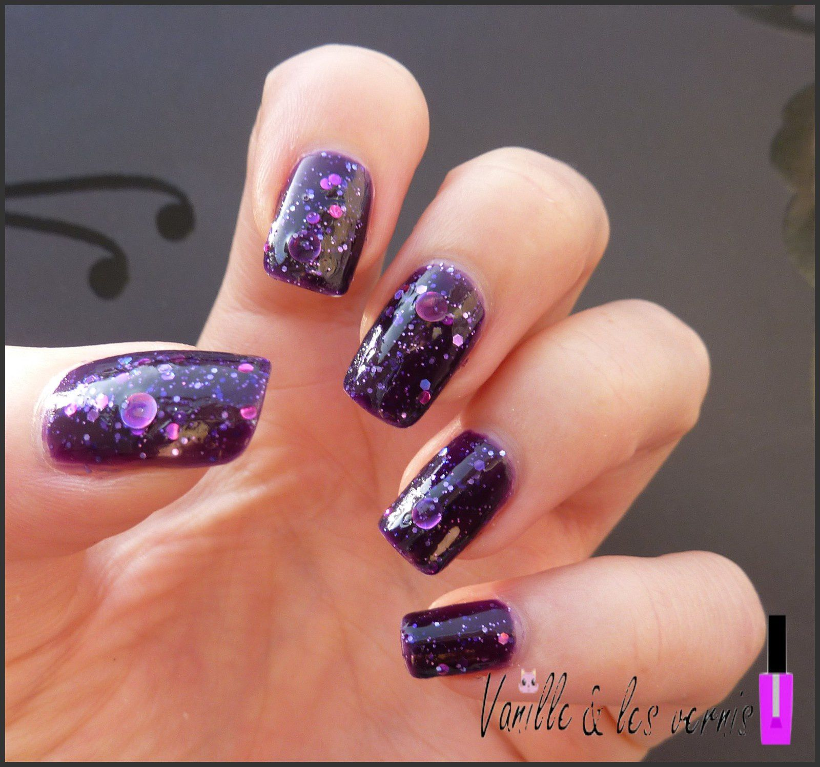 Purple Galactic: Cosmic Kisses