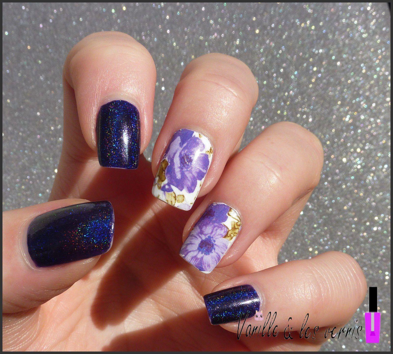 Grape Alicious &amp&#x3B; ses fleurs violettes