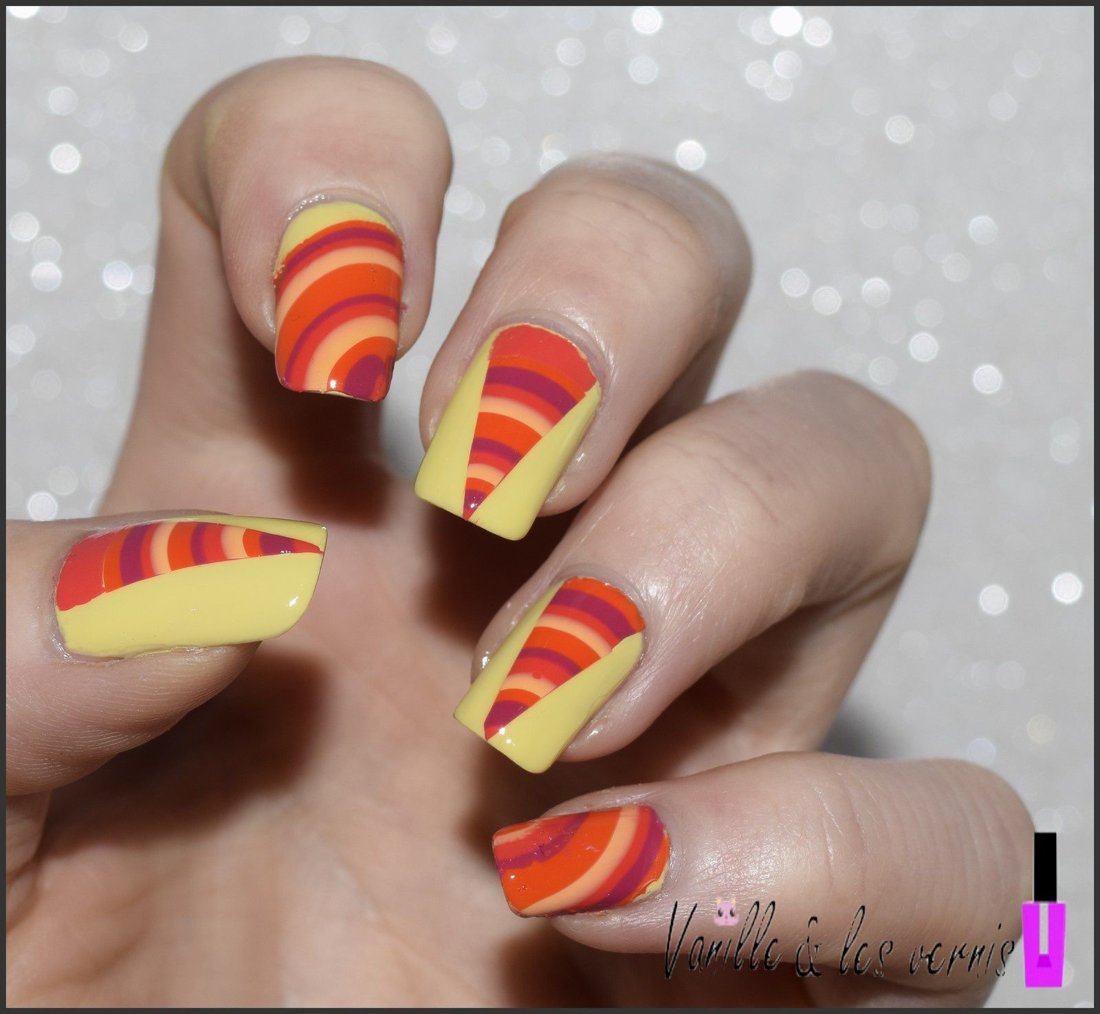 Water Marble en folie!!!