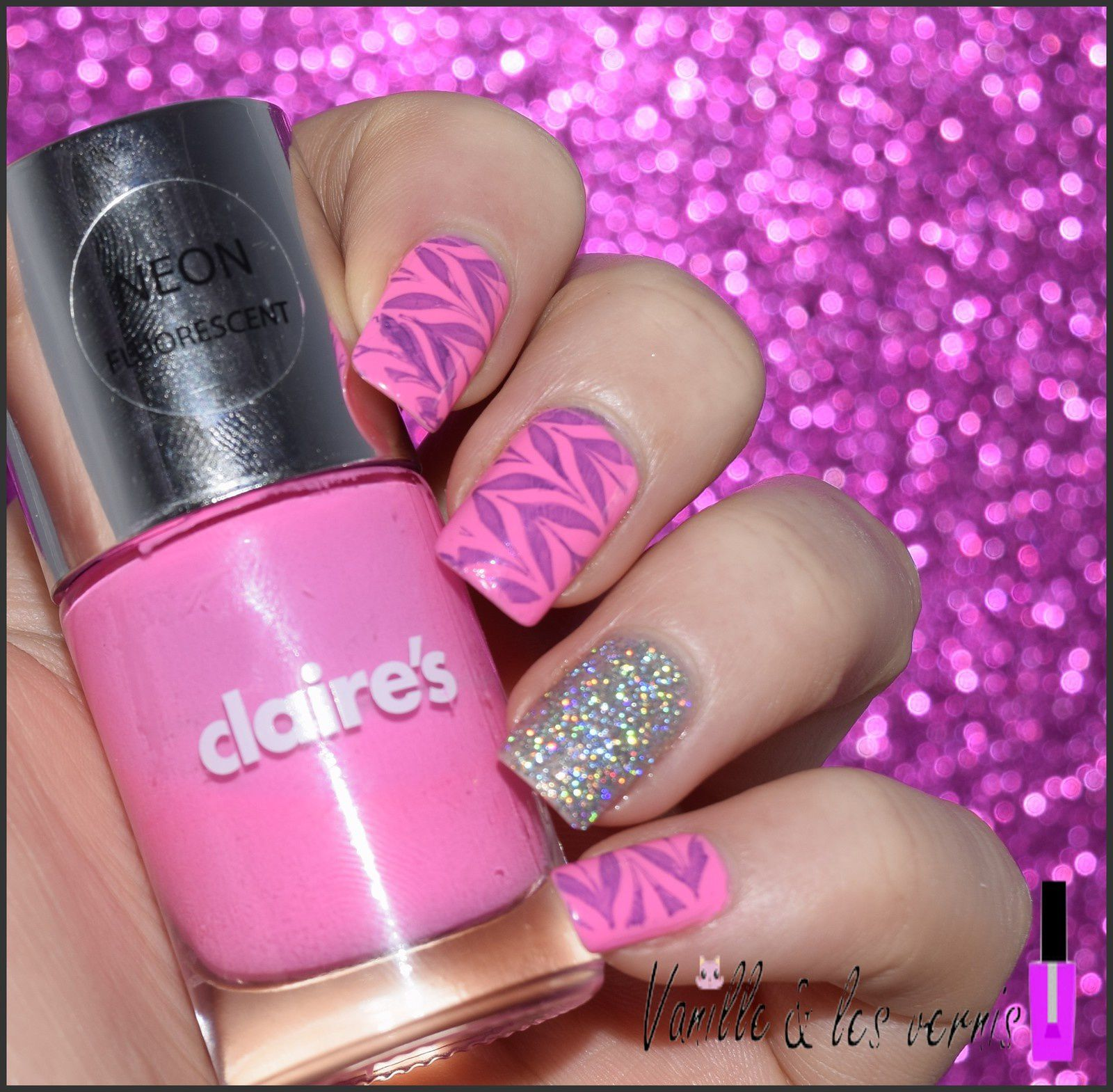 Rose n' Paillettes pour Ka'nails!