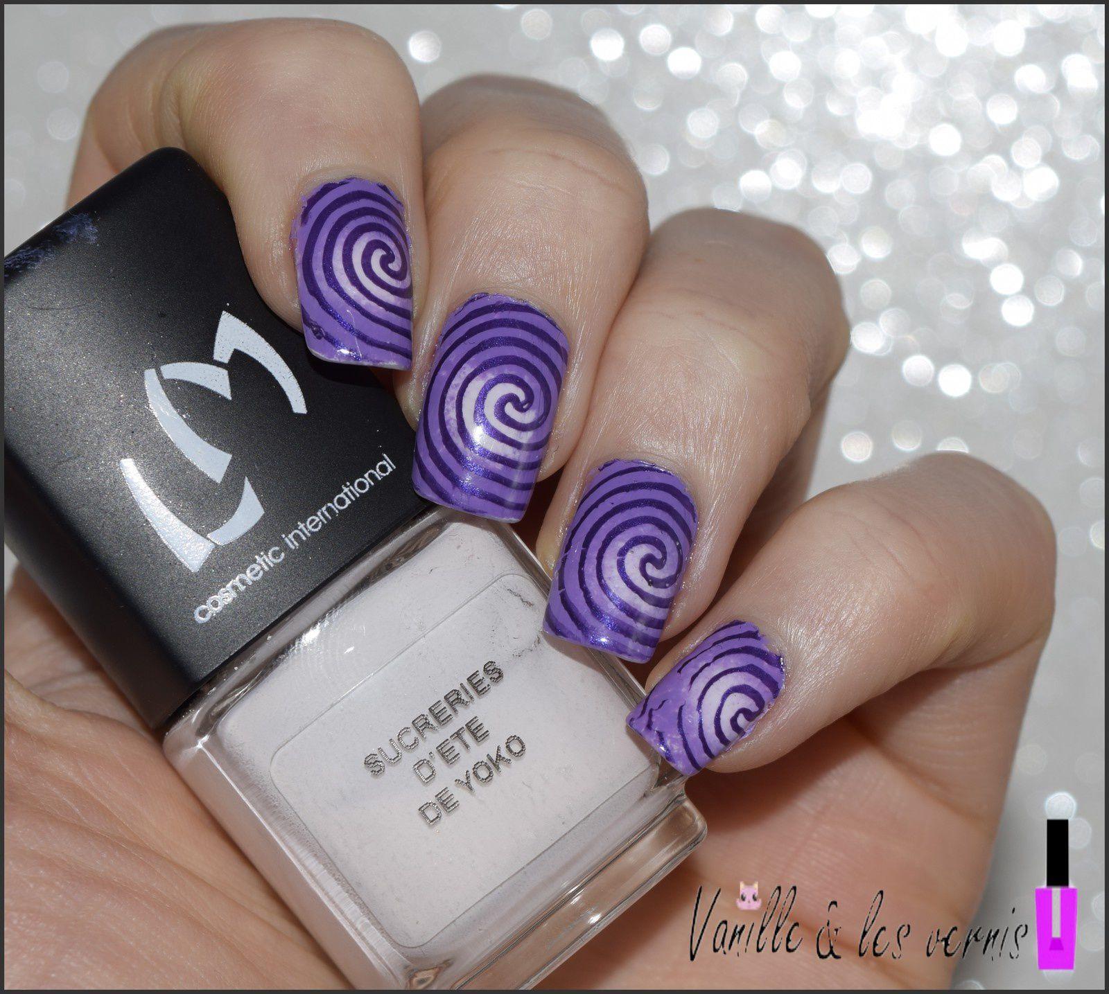 Tourbillons de violets