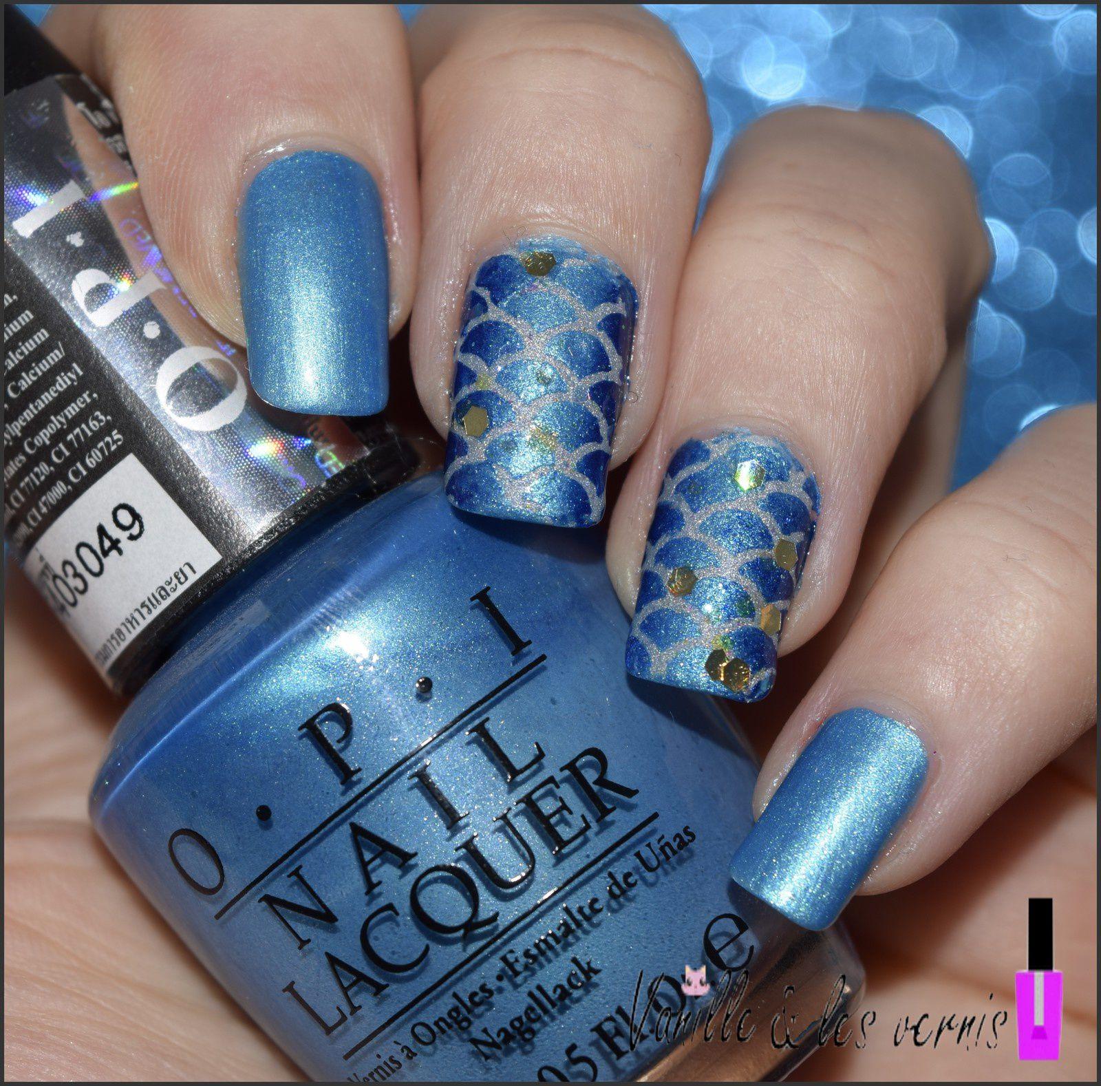 Mes ongles de siréne #4