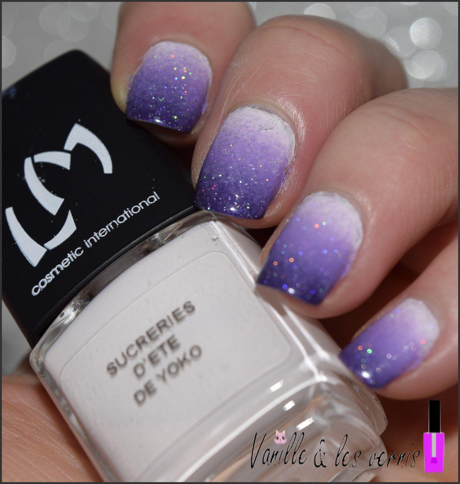 Amethyst nails