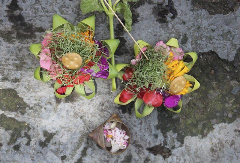 offrandes,cérémonie,  au Lotus café,