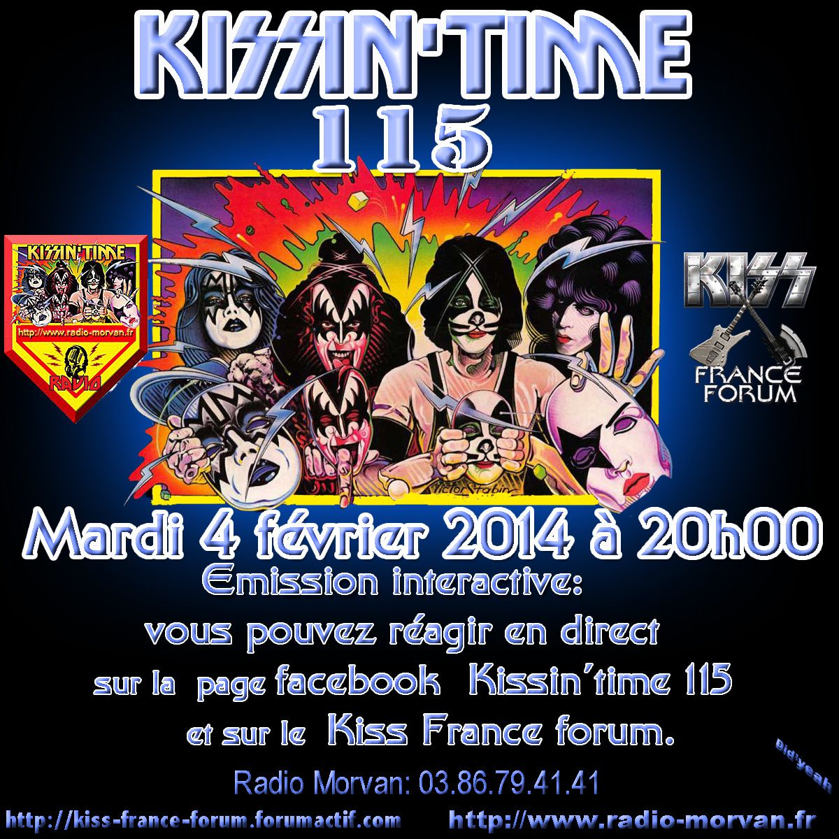 Laurent &amp&#x3B; Philippe presents KISSIN' TIME n°115 du 4/02/2014