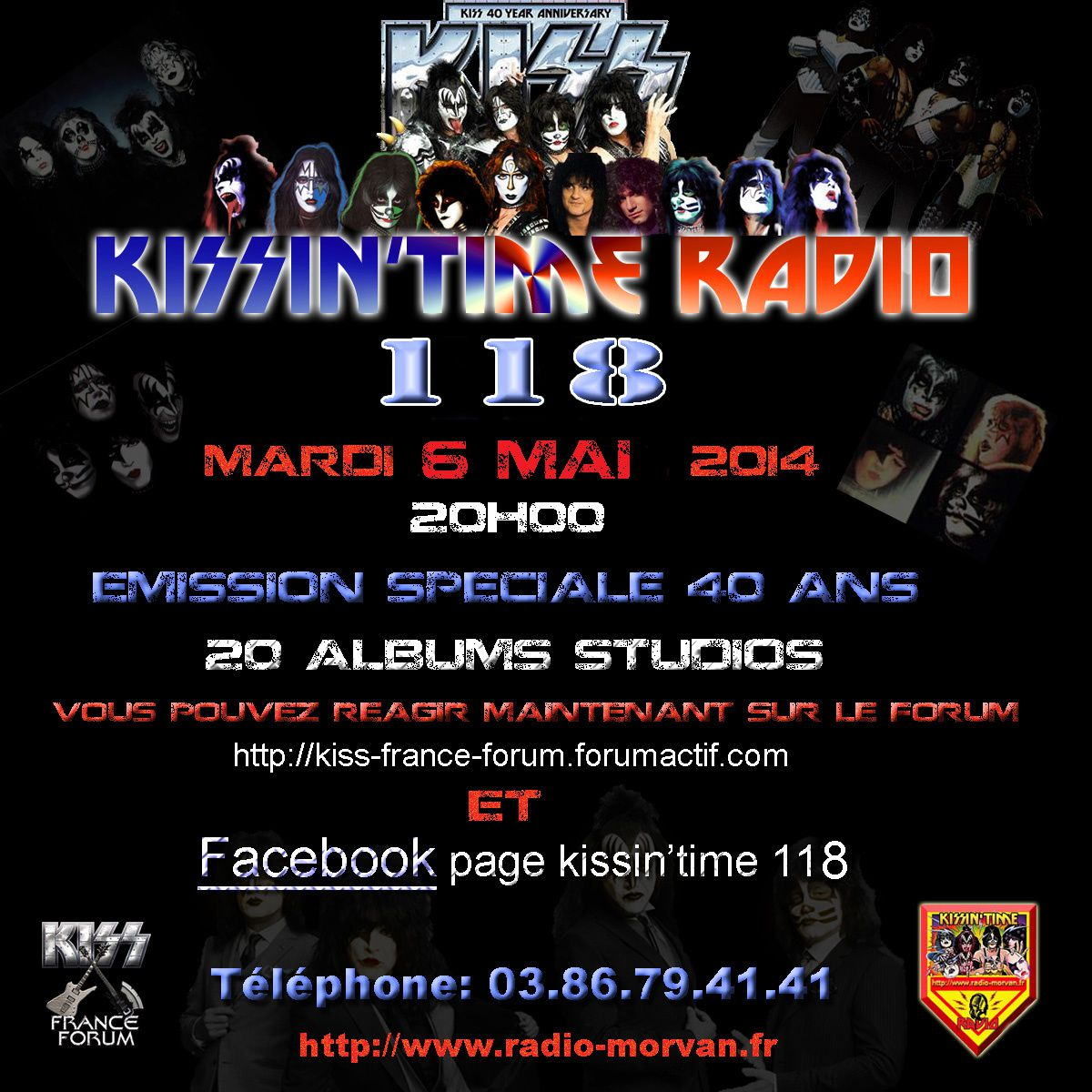 KISSIN' TIME n°118 du 6/05/2014 : 40 years of Kisstory (part 2)