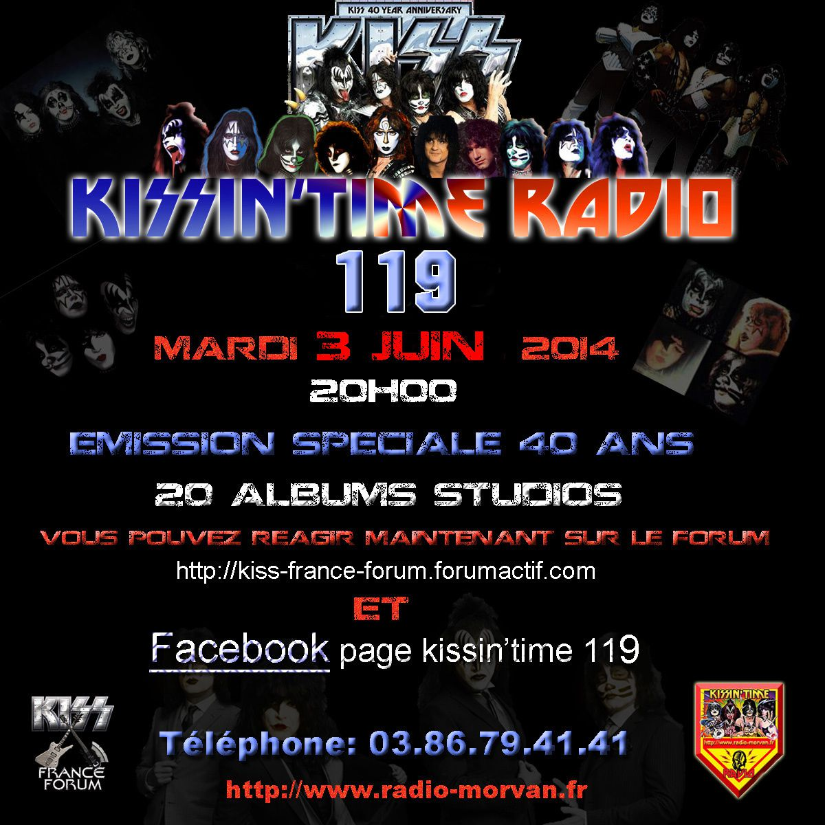 KISSIN' TIME n°119 du 3/06/2014 : 40 years of Kisstory (part 3)