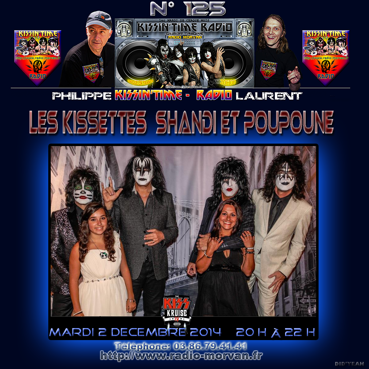 KISSIN' TIME n°125 du 2/12/2014 (Kiss Kruise IV special)