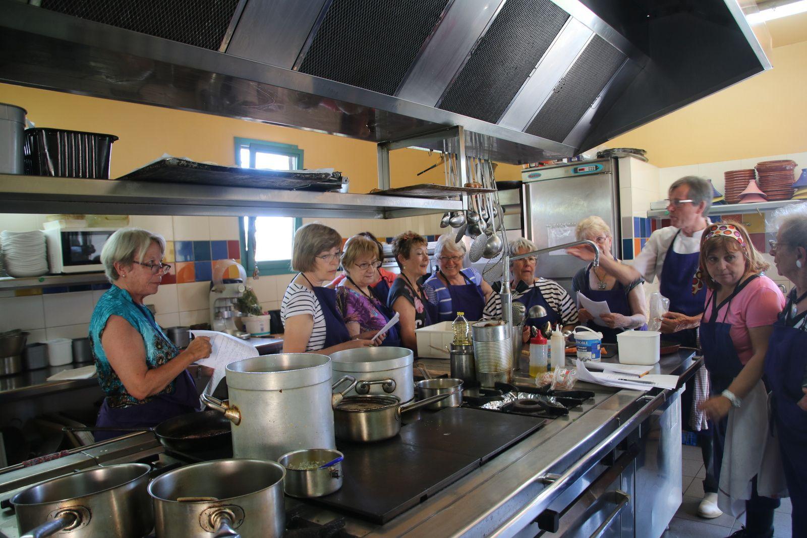 Les stages cuisine d 39 art et vin en partenariat avec le for Stage cuisine lorraine